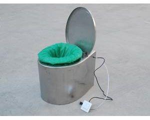 不锈钢自动打包集便器