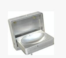 不锈钢折叠洗手盆