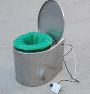 不锈钢电动打包座便器
