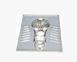 节水冲(或发泡)凸面板不锈钢蹲便器